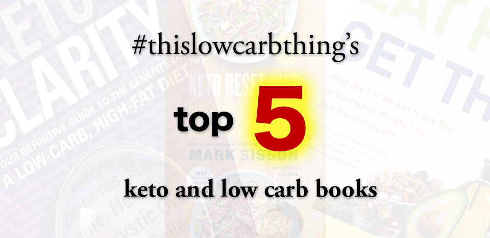Our Top 5 Keto and Low Carb Books Photo
